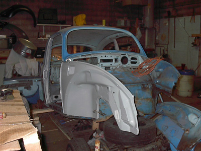 Project Punch 73 Vw Beetle